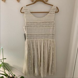 NWT Eliza J. Lace dress